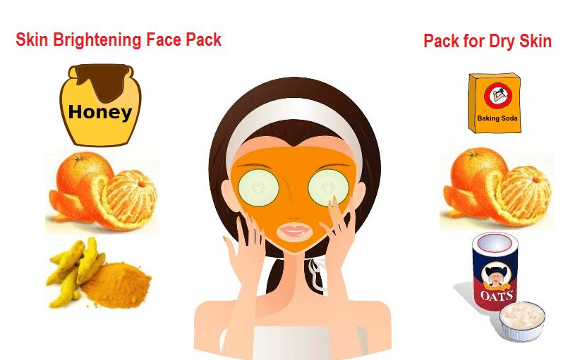 Love orange facial mask TOP
