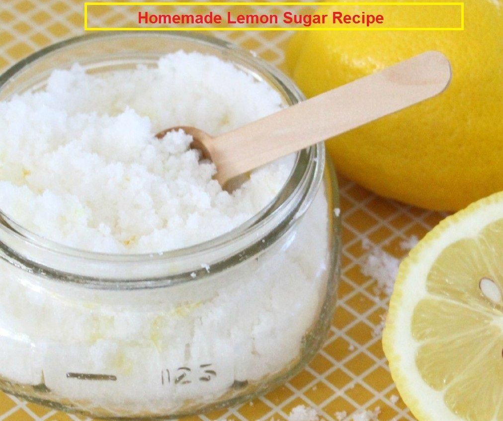 Homemade facial scrub recipe