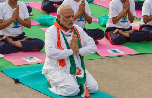International Yoga Day Update- Yoga Medals for Excellence