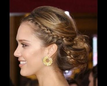 Jessica braided hairdo