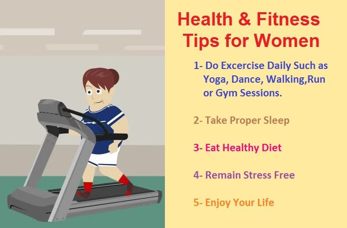 Health And Fitness Tips For Women