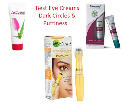 Best Eye Creams Available in India for Dark Circles & Eye Bags