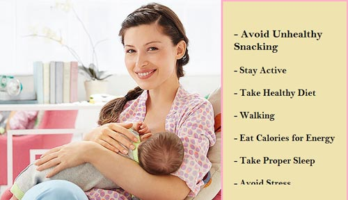 Best Tips for Weight Loss While Breastfeeding