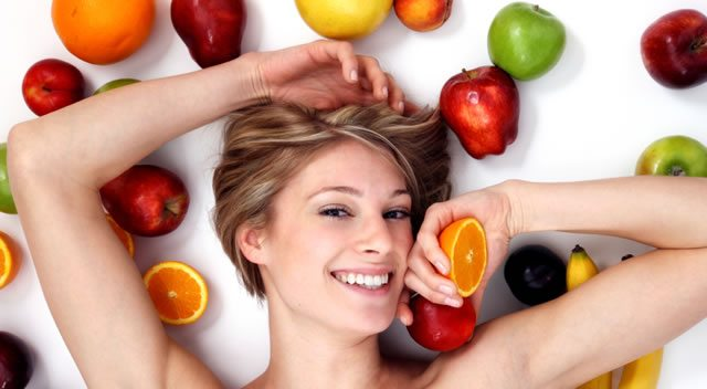 healthy fruits for skin fake fruit
